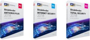Ключи для Bitdefender 2018-2019 и коды активации