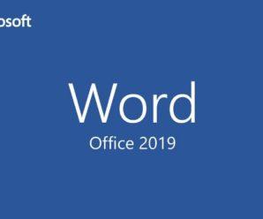 Ключи активации для Word 2019 + активатор