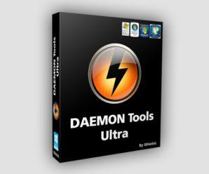 DAEMON Tools Ultra 5.2. с ключом активации 2020-2021